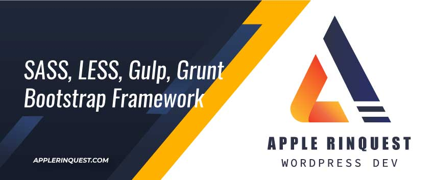 sass-less-gulp-grunt-bootstrap-framework