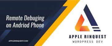 remote-debuging-on-andriod-phone