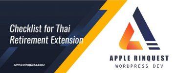 checklist-for-thai-retirement-extension