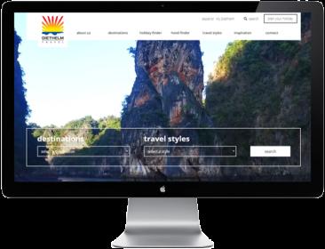 Diethelm Travel Thailand - WordPress customization (theme and plugins)