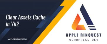 clear-assets-cache-in-yii2