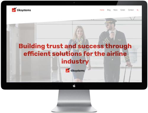 tiksystem - WordPress website