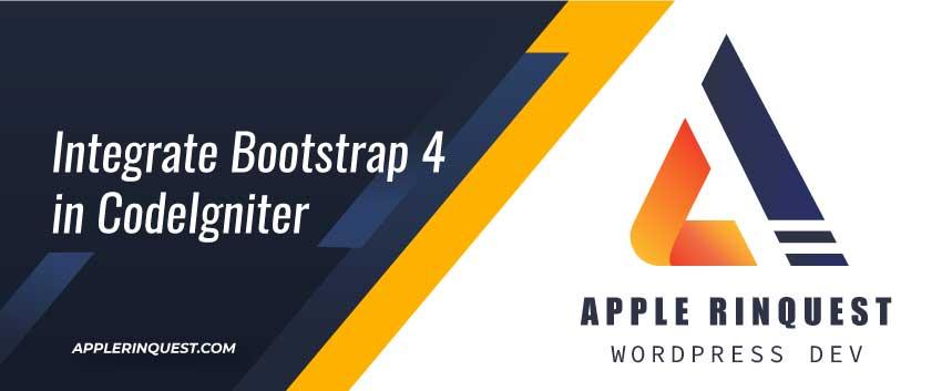 integrate-bootstrap4-in-codeigniter