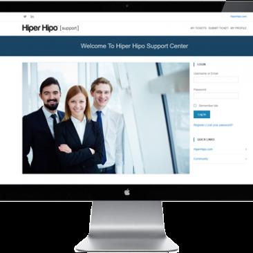 Portfolio-HiperHipo Support Center