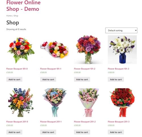 default shop page hello theme