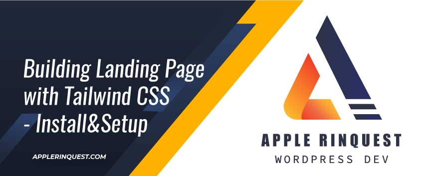 building-landing-page-with-tailwindcss-install_setup